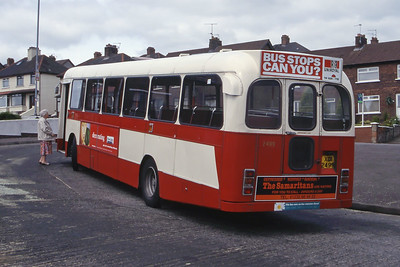 Citybus 2499 Carrs Glen Terminus Belfast 2 Jun 99