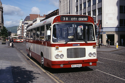 Citybus 2469 Donegall Square Belfast Jun 99