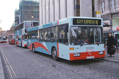 Citybus 2100 Donegall Square Belfast Mar 02