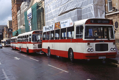 Citybus 2509 Donegall Square Belfast Jul 98