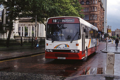 Citybus 1407 Donegall Square Belfast Jul 98