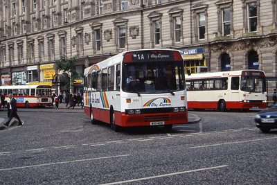 Citybus 1406 Donegall Square Belfast Jun 99
