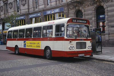 Citybus 2465 Donegall Square Belfast Jun 99