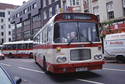 Citybus 2482 Donegall Square Belfast 2 Jul 98