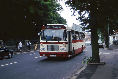Citybus 2491 Fall Road Belfast Aug 97