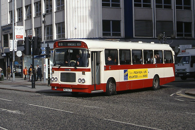 Citybus 2478 Donegall Square Belfast Jun 99