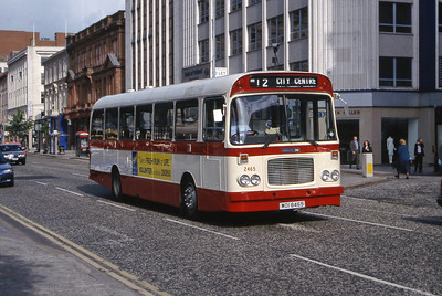 Citybus 2465 Donegall Square Belfast 2 Jun 99