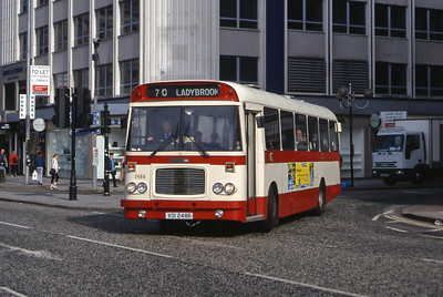 Citybus 2486 Donegall Square Belfast Jun 99