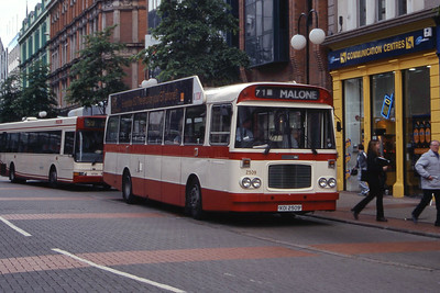 Citybus 2509 Royal Ave Belfast Jun 99
