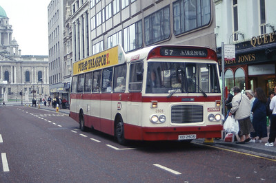 Citybus 2505 Donegall Place Belfast Aug 97 jpg