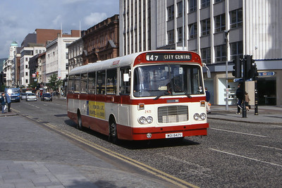Citybus 2471 Donegall Square Belfast Jun 99