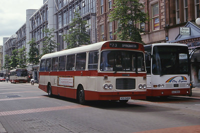 Citybus 2484 Royal Ave Belfast Jun 99