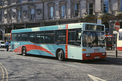 Citybus 2101 Donegall Square Belfast Mar 02