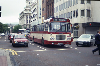 Citybus 2495 Donegall Place Belfast Aug 97