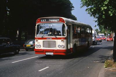 Citybus 2465 Falls Rd Belfast Jun 00