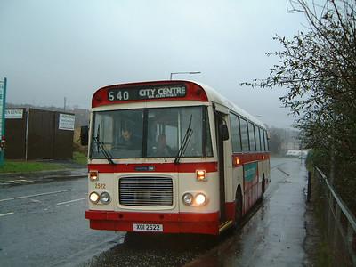 Citybus 2522 Twinbrook Belfast Jan 04