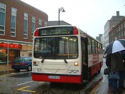 Citybus 633 Queen St Belfast Jan 04