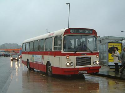 Citybus 2527 Ormeau Forestside Belfast 1 Jan 04