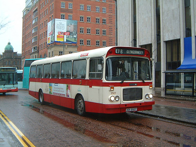 Citybus 2527 Wellington Place Belfast Jan 04
