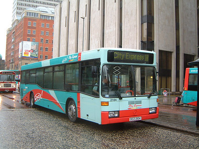 Citybus 2104 Donegall Sq Belfast Jan 04