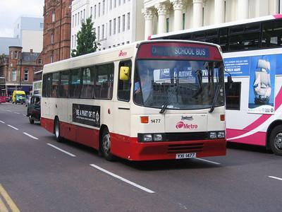 Citybus 1477 Donegall Sq Belfast Jun 06