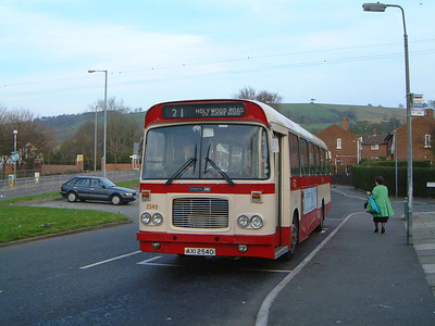 Citybus 2540 Hollywood Rd Belfast Mar 02