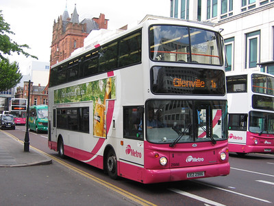 Citybus Belfast Buses and Coaches in the Digital Age and into Metro March 2002 and onwards