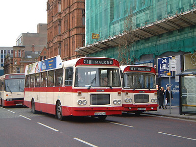 Citybus 2505_2537 Donegall Square Belfast 1 Mar 02