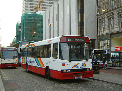 Citybus 1405 Donegall Square Belfast Mar 02