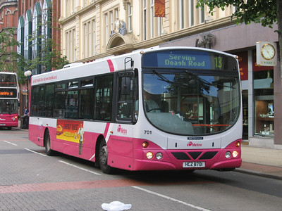 Citybus 701 Royal Avenue Belfast Jun 06