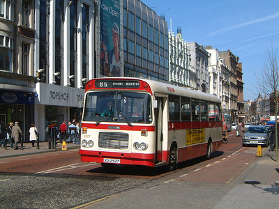 Citybus 2527 Donegall Place Belfast Mar 02