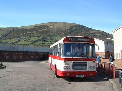 Citybus 2538 Springmartin Belfast 2 Mar 02
