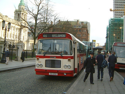 Citybus 2521 Donegall Square Belfast Mar 02