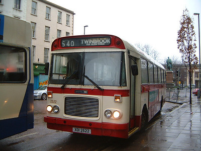 Citybus 2522 Wellington Place Belfast Jan 04
