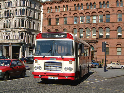 Citybus 2514 Donegall Square Belfast 2 Mar 02