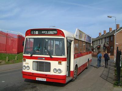 Citybus 2505 Horn Drive Lenadoon Belfast Mar 02