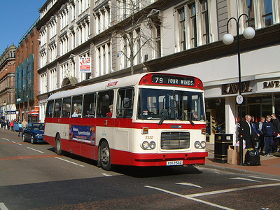 Citybus 2522 Donegall Place Belfast Mar 02