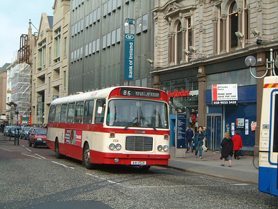 Citybus 2530 Donegall Square Belfast 1 Mar 02