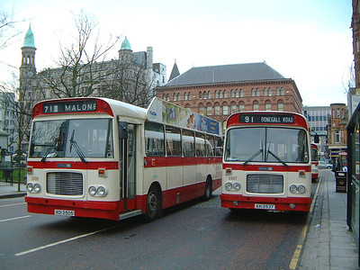 Citybus 2505_2537 Donegall Square Belfast 2 Mar 02