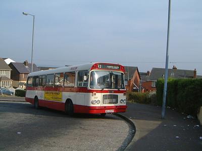 Citybus 2527 Carrs Glen Belfast Mar 02