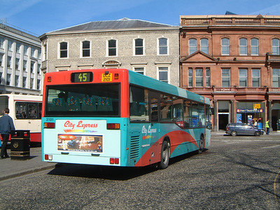 Citybus 2101 Donegal Square Belfast 2 Mar 02