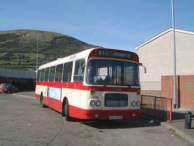 Citybus 2538 Springmartin Belfast 1 Mar 02