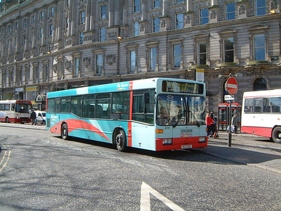 Citybus 2101 Donegall Square Belfast 1 Mar 02