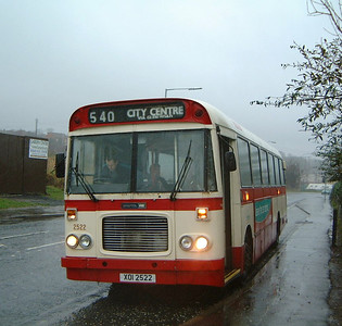 Citybus 2522 Twinbrook Belfast cover
