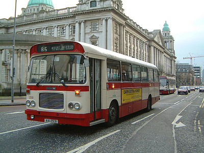 Citybus 2531 Howard Street Belfast Mar 02