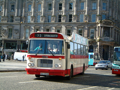 Citybus 2506 Donegall Square Belfast Mar 02