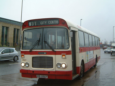 Citybus 2527 Ormeau Forestside Belfast 2 Jan 04