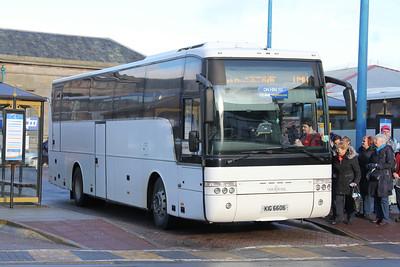 Edinburgh Coach Lines KIG6606 IBS Feb 16