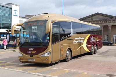 Edinburgh Coach Lines YR17RHF IBS 6 Jun 17