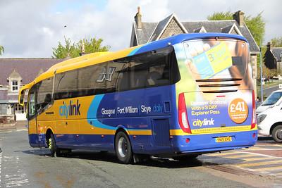 Glasgow Citybus YN15EKE Somerled Square 2 May 15